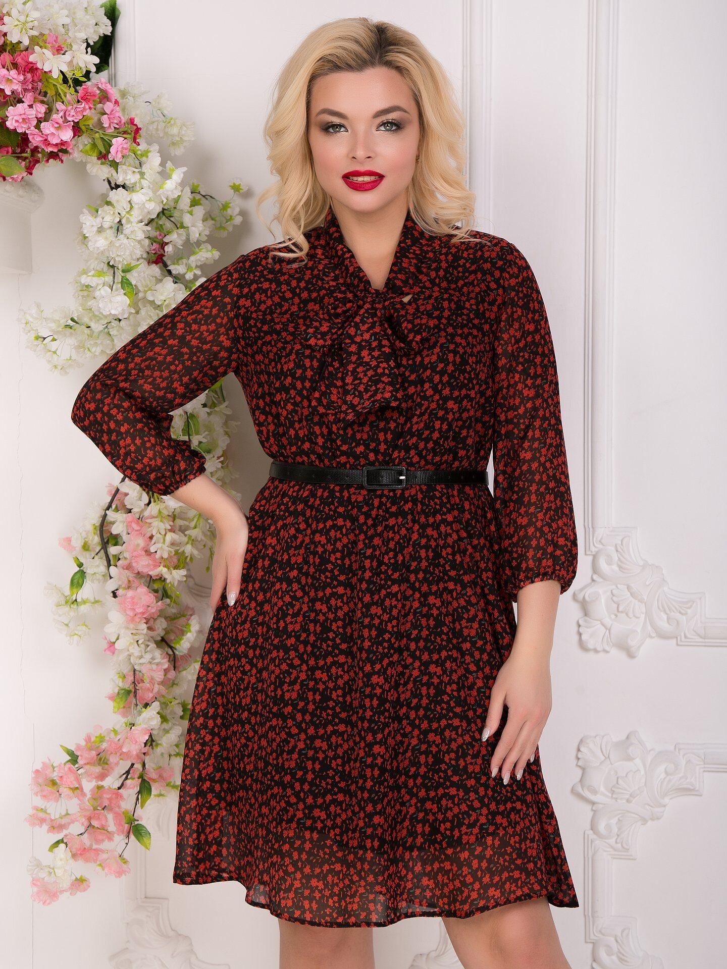 1e0795b0887 Купить платье Модная соната (рэд) от Diolche